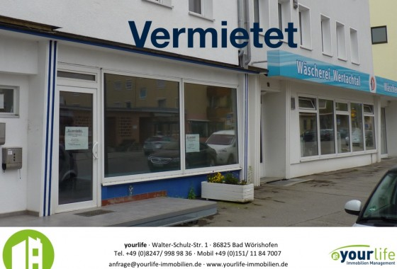 Immobilienmakler Bad Wörishofen großes schaufenster yourlife immobilienmakler bad wörishofen