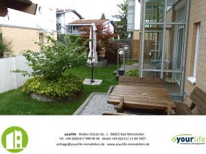 Terrassenwohnung Kaufbeuren Garten