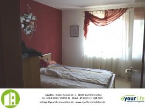 Wohnung in Kaufbeuren Schlafzimmer1