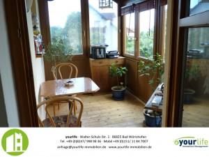 Wohnung in Kaufbeuren mit Wintergarten