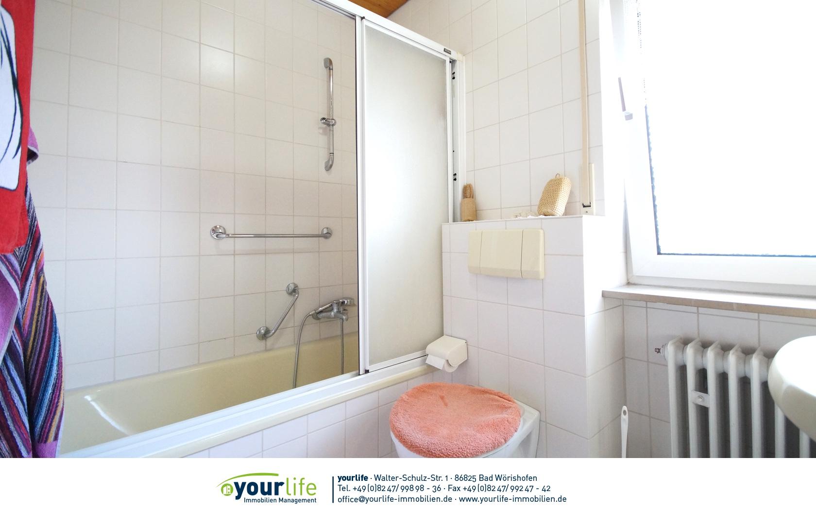 Immobilienmakler Bad Wörishofen badwoerishofen reihenmittelhaus badezimmer mit fenster yourlife