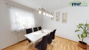 Kernsanierte-Doppelhaushalfte-Augsburg-Essbereich