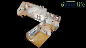 Einfamilienhaus-Legau-Puppenhaus