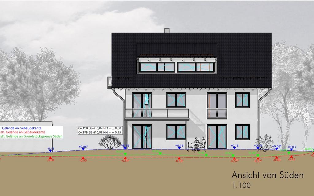 Mehrfamilienhaus_Türkheim_Ansicht_Sueden