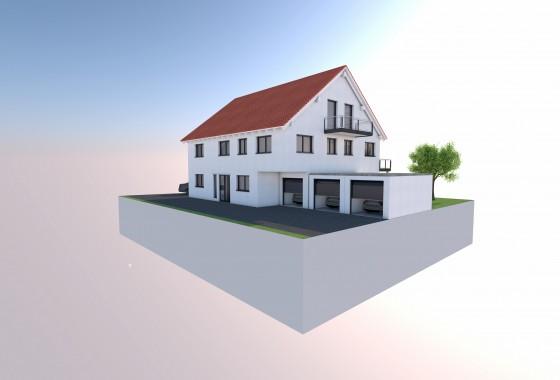 Neubau 3 Familienhaus Bad Woerishofen 2